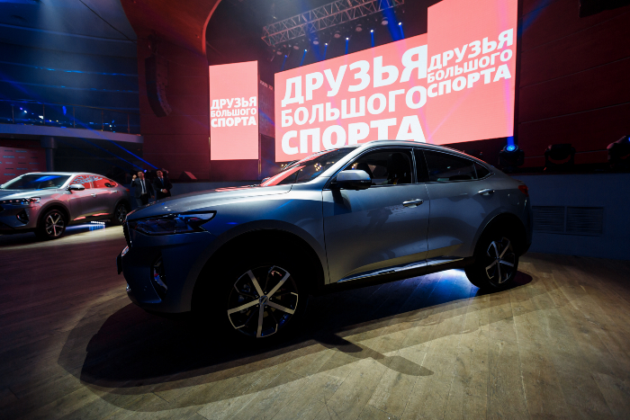 Global Car HAVAL F7x Launched in Russia Formally.