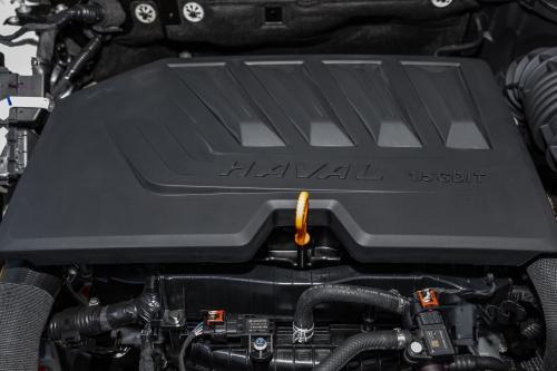 第三代哈弗H6 Pro发动机(正前特写)