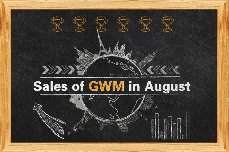 Sales Report of GWM in August