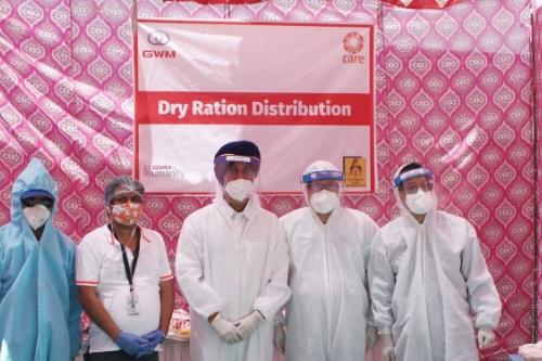 命运与共 爱无国界!长城汽车为印度提供防疫生活物资援助