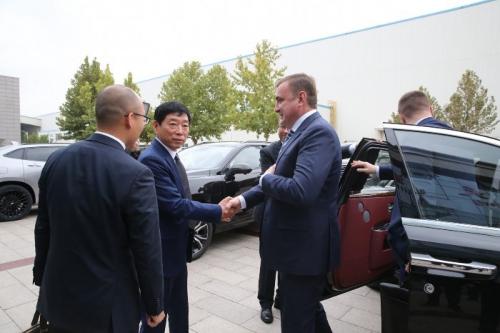 俄罗斯图拉州政府、俄联邦工贸部访问长城汽车