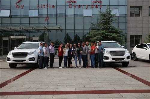 壮我中国制造 柬埔寨警方亲临长城汽车总部采购哈弗H9