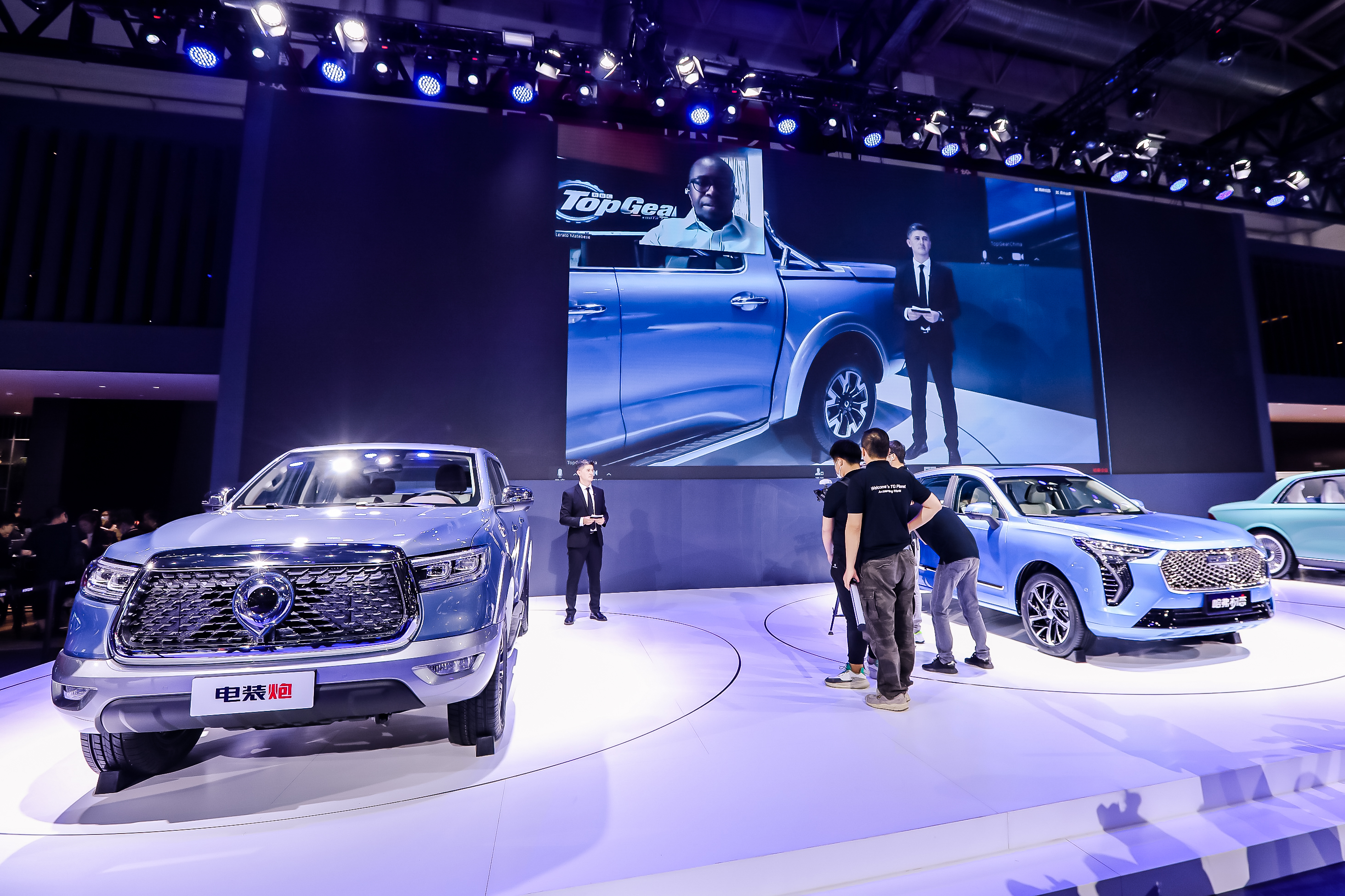 北京车展:长城汽车与世界同创共享