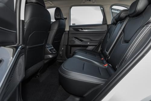 第三代哈弗H6 Pro后排坐席空间(主驾视角)