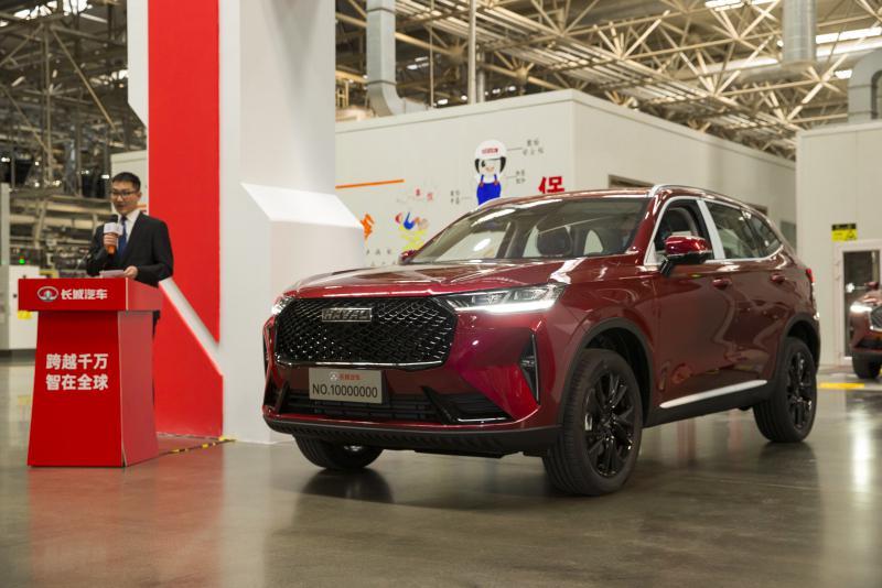 长城汽车第1000万辆整车下线 笃定变革向全球化科技出行公司转型