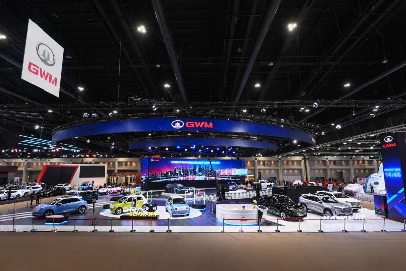 向泰国新能源领导者进发 长城汽车携全多款能源车登陆泰国曼谷车展