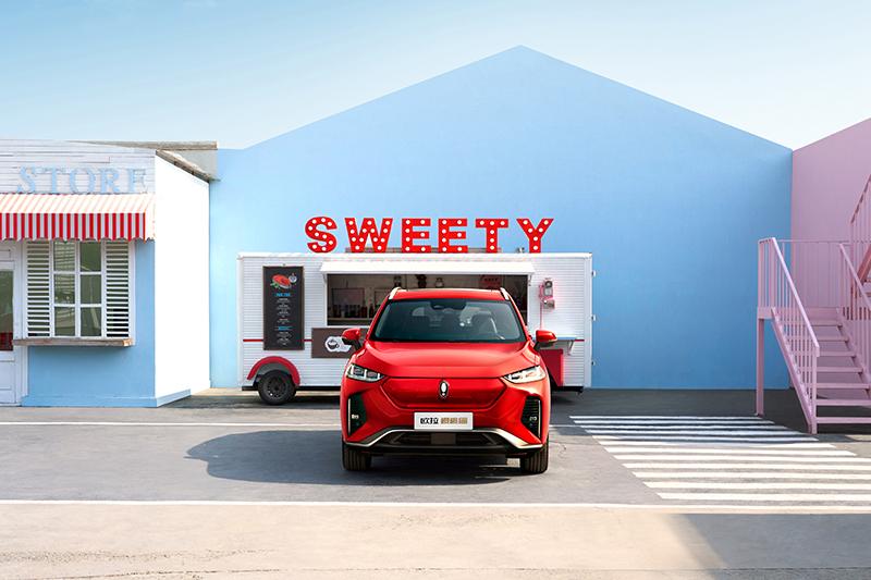欧拉A+级纯电SUV正式命名欧拉樱桃猫