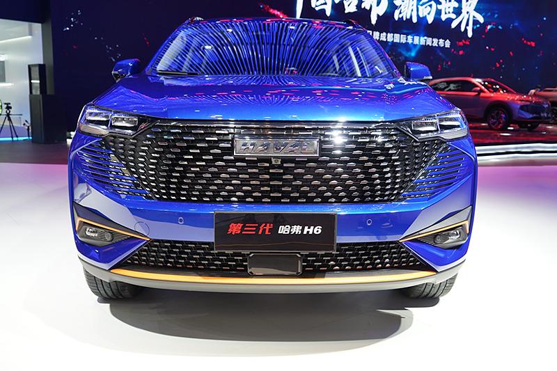 2021成都车展新车速览:第三代哈弗H6进阶来袭