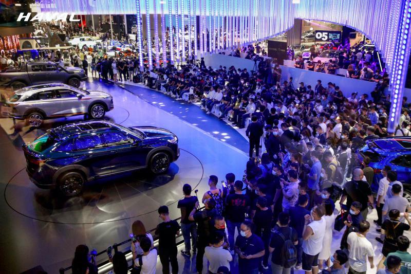 潮动蓉城 长城汽车携五大品牌燃炸2021成都车展