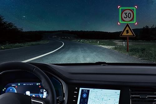 哈弗F7 交通限速標志智能識別