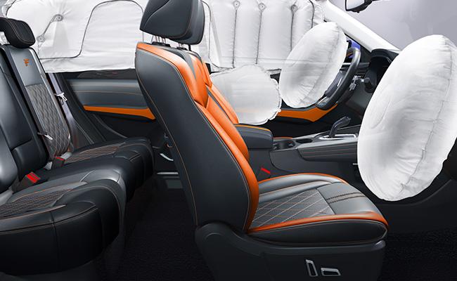 哈弗F7x 全车6安全气囊