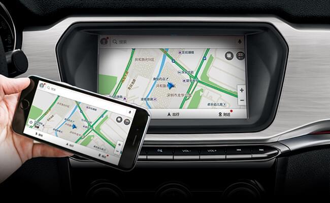 哈弗H2 影音娱乐系统 Carplay+Carlife车机手机互联