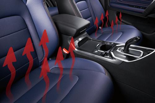 哈弗H6 前排座椅电加热