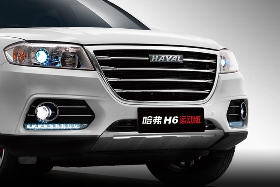 哈弗H6运动版 镀铬装饰条