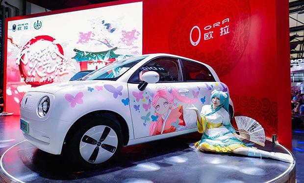长城欧拉白猫-欧拉R1青春版首秀圈粉无数,打破二次元壁闪耀China Joy