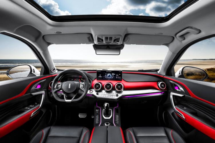 wey barbusauto AI智能面部识别 第三代智能高清广角流媒体内后视镜 360°鸟瞰式全景可视泊车辅助系统