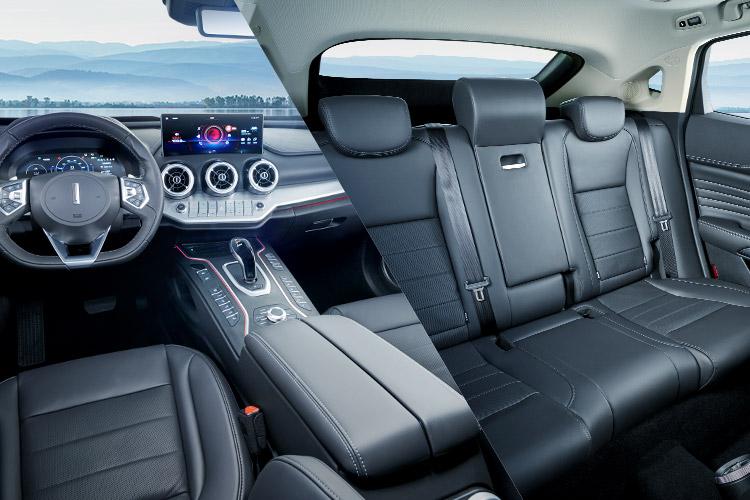 wey vv7phev双12.3英寸全彩显示屏 专属后排豪华航空座椅(VV7 GT PHEV专属) 律动氛围灯(VV7 GT PHEV专属)实景图
