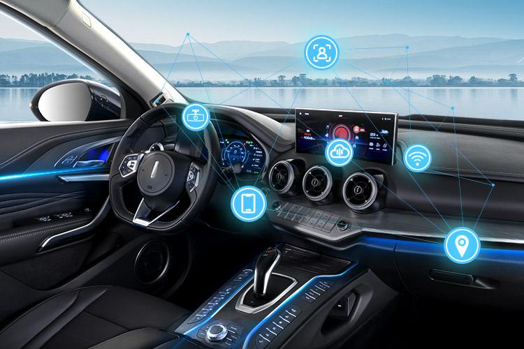 wey vv7phev全自动泊车系统 AI智能面部识别实景图